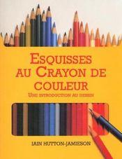 Esquisses Au Crayon De Couleur - Intérieur - Format classique
