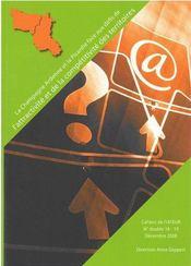 Cahiers de l'iateur t.18-19 ; la Champagne-Ardenne et la Picardie face aux défis de l'attractivité et de la compétitivité des territoires - Couverture - Format classique