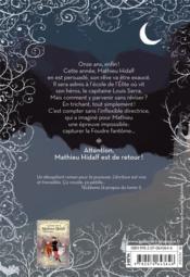 Mathieu Hidalf et la foudre fantome t.2 - 4ème de couverture - Format classique