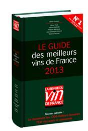 Le guide des meilleurs vins de France (édition 2013) - Couverture - Format classique