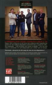 Le guide des meilleurs vins de France (édition 2013) - 4ème de couverture - Format classique