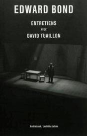 Entretiens avec David Tuaillon - Couverture - Format classique