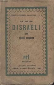 Collection Vies Des Hommes Illustres N° 8. La Vie De Disraeli. - Couverture - Format classique