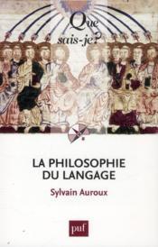 La philosophie du langage (2e édition) - Couverture - Format classique