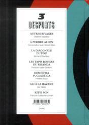 Desports N.3 - 4ème de couverture - Format classique