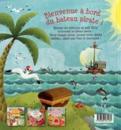 Pirates : mon livre-jeu - 4ème de couverture - Format classique