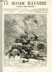 LE MONDE ILLUSTRE N°921 La tempête de neige au Grand Saint-Bernard - Couverture - Format classique
