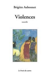 Violences - Couverture - Format classique