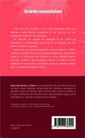 Soirée mondaine - 4ème de couverture - Format classique