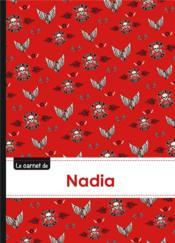 Carnet Nadia Lignes,96p,A5 Bikers - Couverture - Format classique