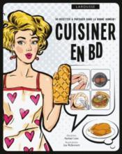 Cuisiner en BD - Couverture - Format classique
