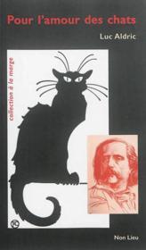 Pour l'amour des chats - Couverture - Format classique