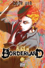 Alice in Borderland T.14 - Couverture - Format classique