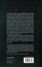 La fille du bourreau et le moine noir - 4ème de couverture - Format classique