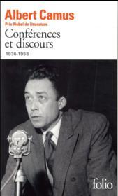 Conférences et discours, 1936-1958 - Couverture - Format classique