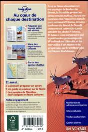 Namibie (4e édition) - 4ème de couverture - Format classique