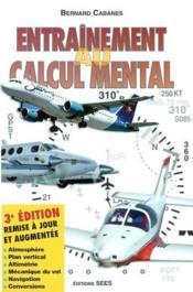 Entrainement au calcul mental ; 3e edition - Couverture - Format classique