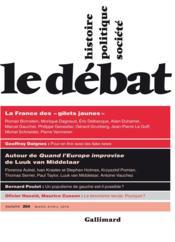 Revue Le Débat N.204 ; mars - avril 2019 - Couverture - Format classique