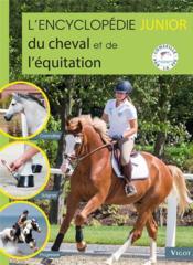 L'encyclopédie junior du cheval et de l'équitation - Couverture - Format classique