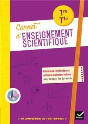 Carnet d'enseignement scientifique ; 1re, terminale ; carnet de l'élève (édition 2020) - Couverture - Format classique