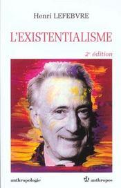 L'existentialisme (2e édition) - Intérieur - Format classique