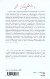 L'existentialisme (2e édition) - 4ème de couverture - Format classique