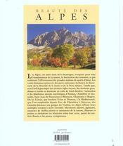 Des Alpes - 4ème de couverture - Format classique