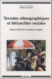 Terrains Ethnographiques Et Hierarchies Sociales - Couverture - Format classique