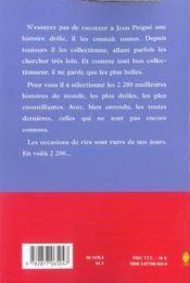 La Grande Encyclopédie Des Histoires Drôles. 2200 Histoires Drôles - 4ème de couverture - Format classique