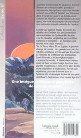 Quantex 3 - Coexistence (La) - 4ème de couverture - Format classique