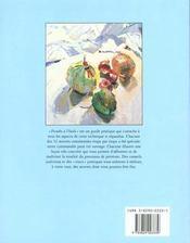 Peindre A L'Huile - 4ème de couverture - Format classique