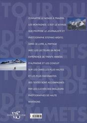 Le tour du monde des sommets - 4ème de couverture - Format classique