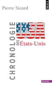 Chronologie des Etats-Unis - Couverture - Format classique