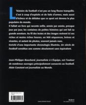 Un siècle de football (édition 2010) - 4ème de couverture - Format classique