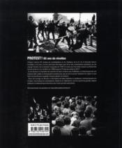 Protest ! 65 ans de révoltes - 4ème de couverture - Format classique