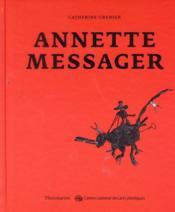 Annette Messager - Couverture - Format classique