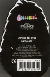 Mini-Barbouille - 4ème de couverture - Format classique