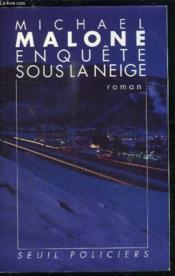 Enquete Sous La Neige - Couverture - Format classique