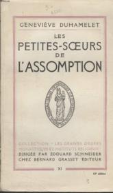 Les Petites Soeurs De L Assomption. - Couverture - Format classique