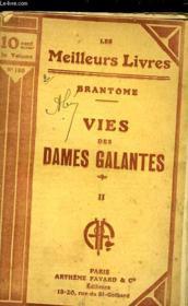 Vies Des Dames Galantes - Tome 2 - Couverture - Format classique