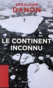 Le continent inconnu - Couverture - Format classique