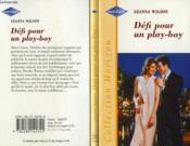 Defi Pour Un Playboy - The Third Kiss - Couverture - Format classique