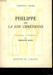 PHILIPPE ou LA JOIE CHRETIENNE. - Couverture - Format classique