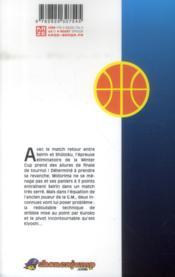 Kuroko's basket T.11 - 4ème de couverture - Format classique