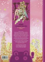 Yôsei ; l'essence des fées - 4ème de couverture - Format classique