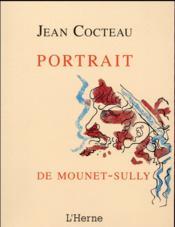 Le portrait de Mounet-Sully - Couverture - Format classique