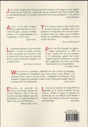 REVUE L'ATELIER DU ROMAN ; liberté, quelles règles pour quel jeu? IIe rencontre de Thélème - 4ème de couverture - Format classique
