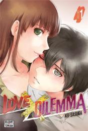 Love X dilemma T.1 - Couverture - Format classique