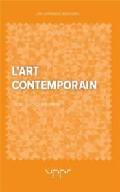 L'art contemporain - Couverture - Format classique