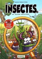 Les insectes en bande dessinée T.1 - Couverture - Format classique